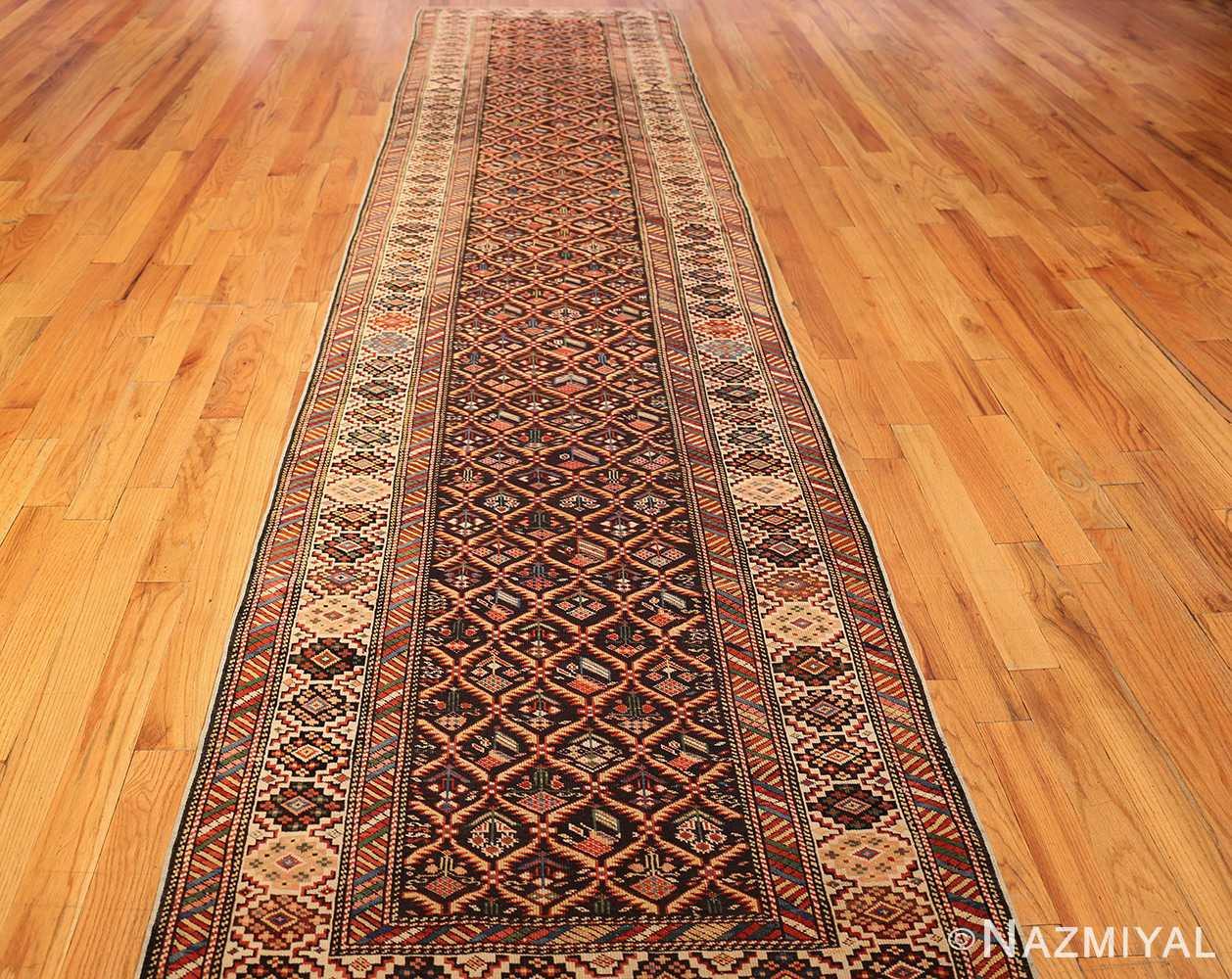 antique shirvan caucasian rug runner 49259 full Nazmiyal