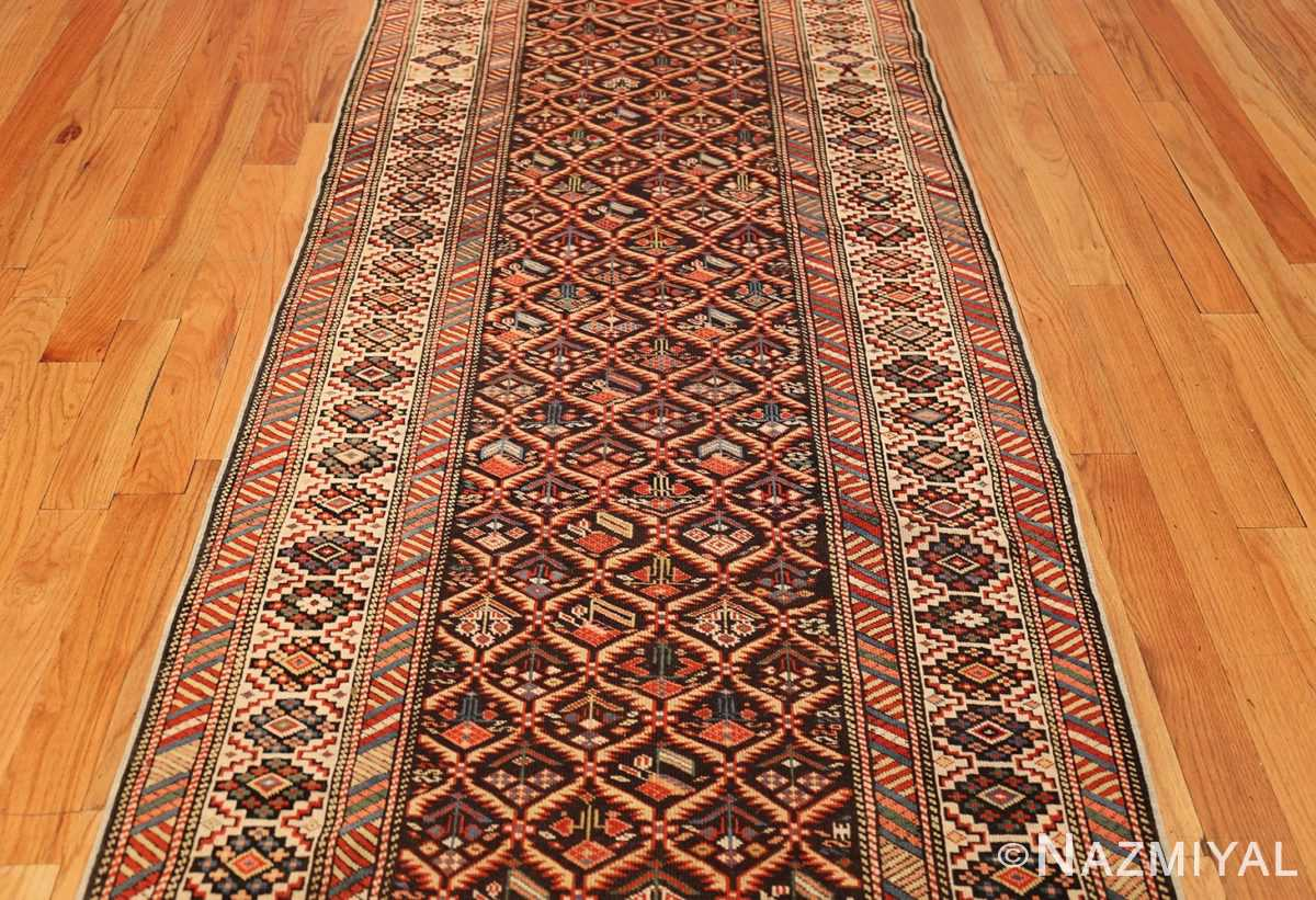 antique shirvan caucasian rug runner 49259 middle Nazmiyal