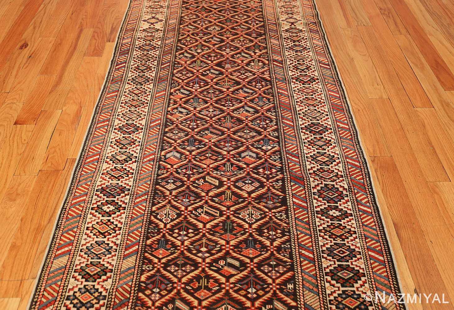 antique shirvan caucasian rug runner 49259 middle Nazmiyal