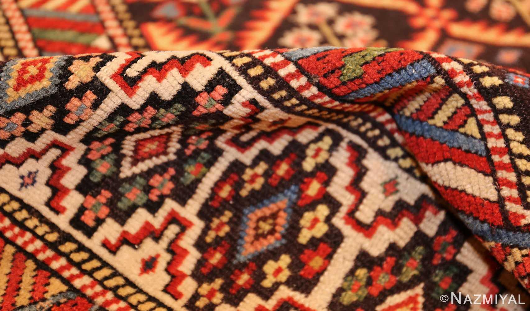 antique shirvan caucasian rug runner 49259 pile Nazmiyal