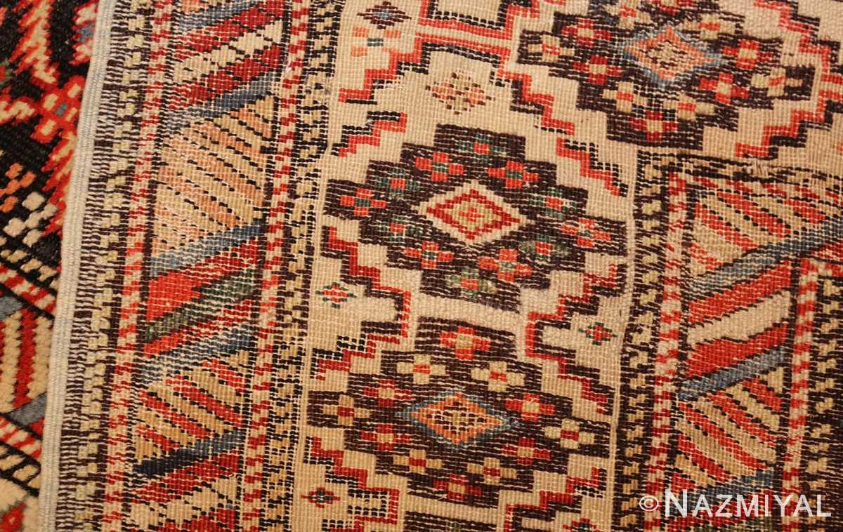 antique shirvan caucasian rug runner 49259 weave Nazmiyal