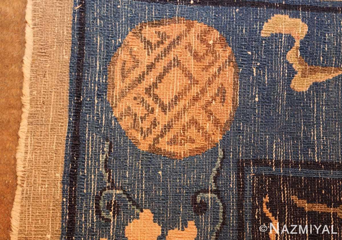 antique taupe background chinese rug 49235 weave Nazmiyal