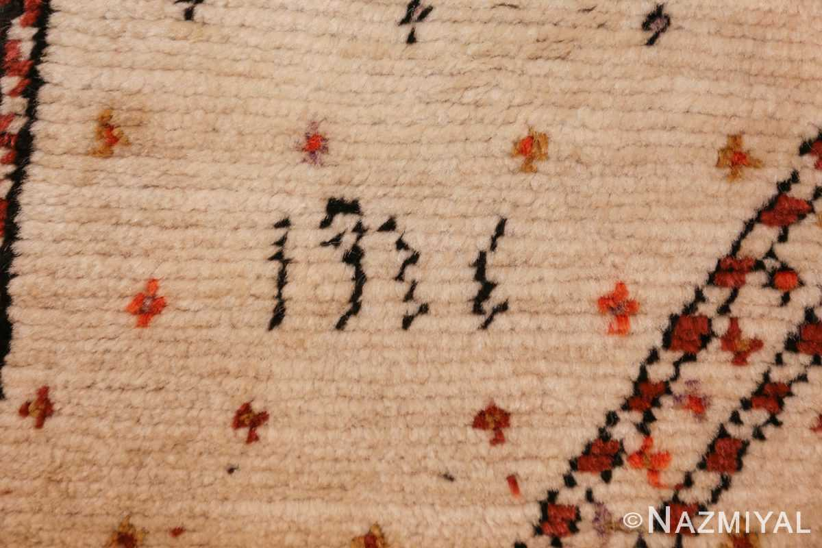 antique tribal persian gabbeh rug 49102 date Nazmiyal