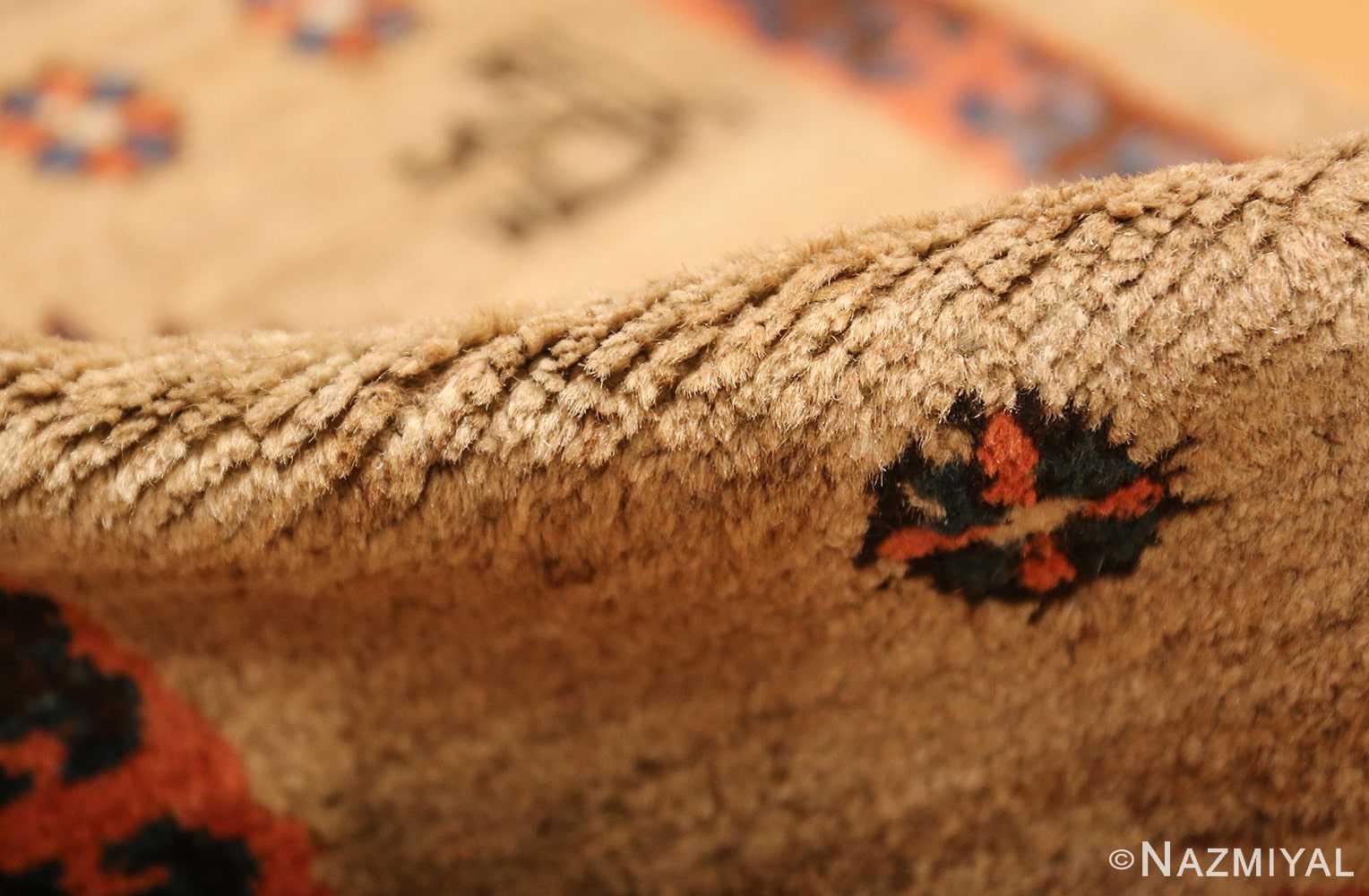 camel hair antique bakshaish runner rug 49277 pile Nazmiyal