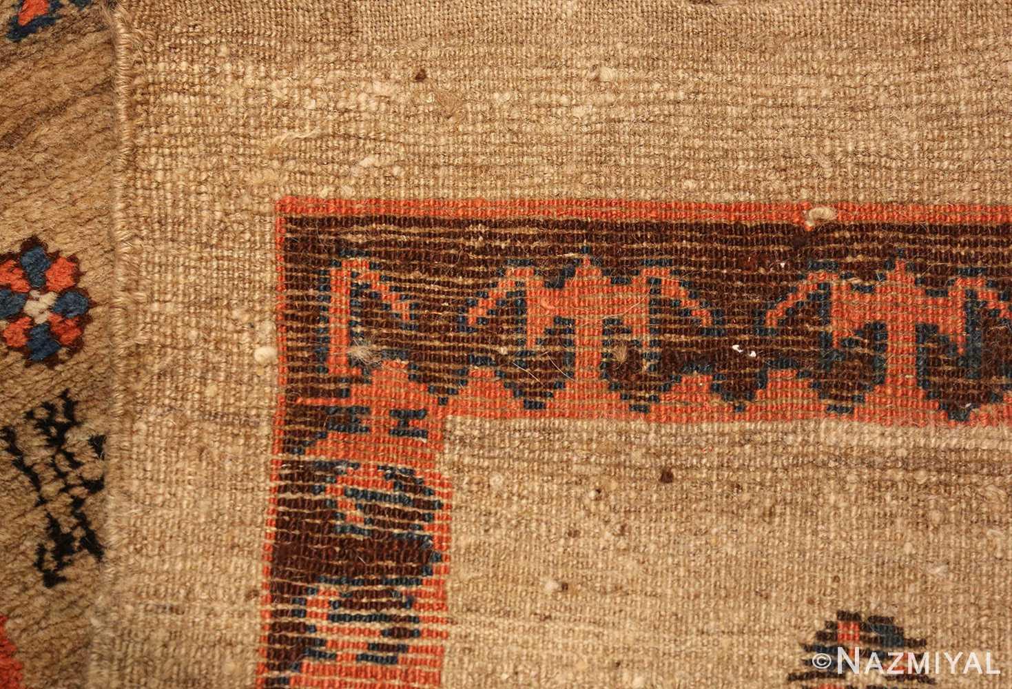 camel hair antique bakshaish runner rug 49277 weave Nazmiyal