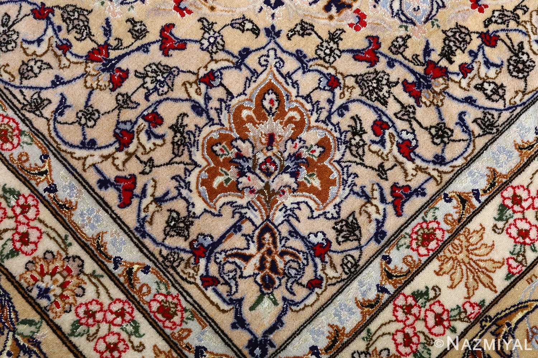 dark background vintage isfahan rug 51115 design Nazmiyal