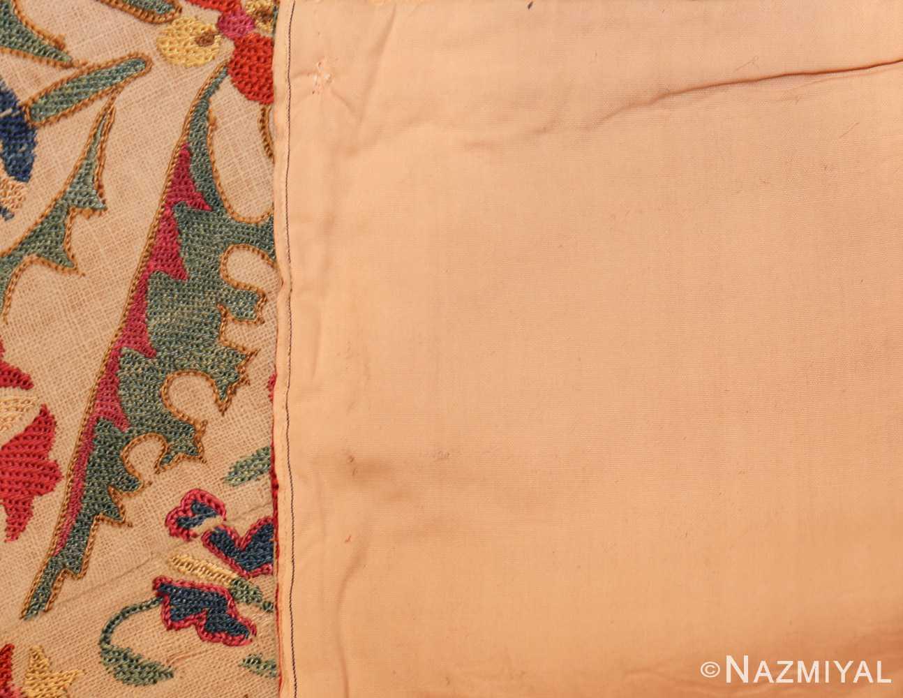 early 19th century suzani uzbek textile 49254 back Nazmiyal