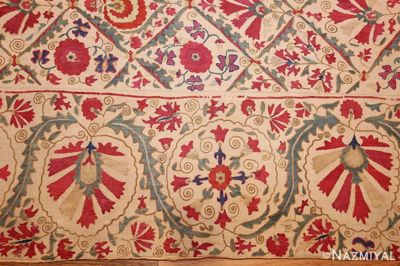early 19th century suzani uzbek textile 49254 border Nazmiyal