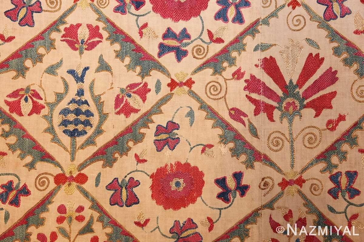 early 19th century suzani uzbek textile 49254 field Nazmiyal