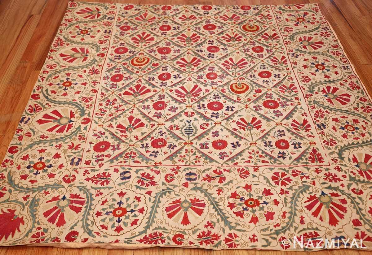 early 19th century suzani uzbek textile 49254 full Nazmiyal