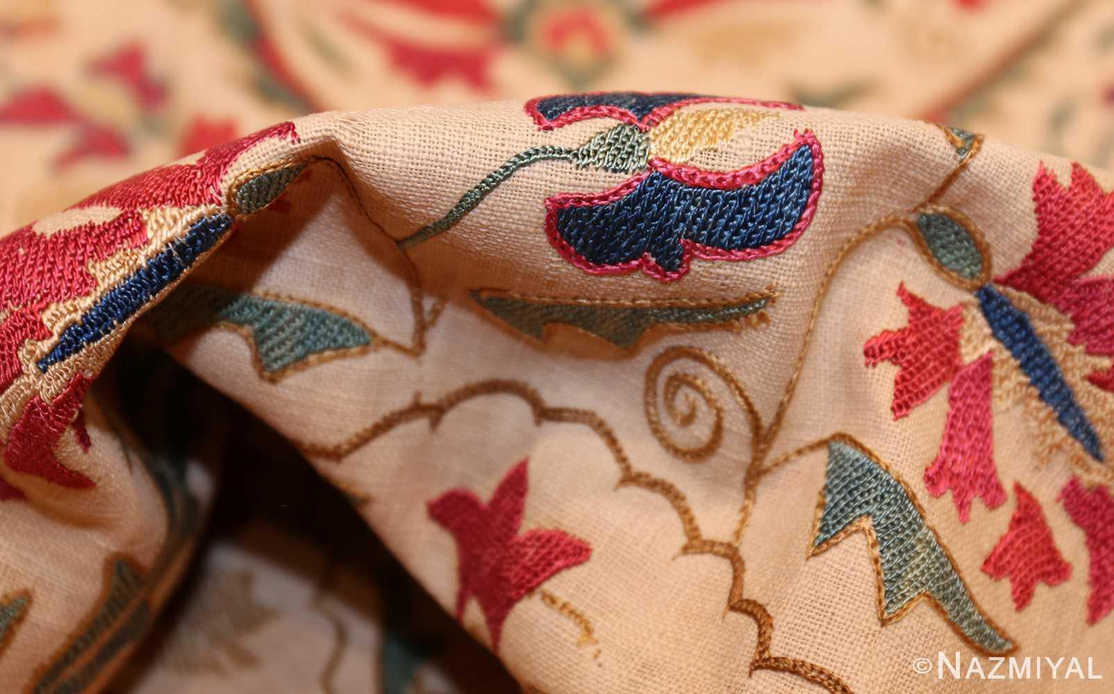 early 19th century suzani uzbek textile 49254 pile Nazmiyal