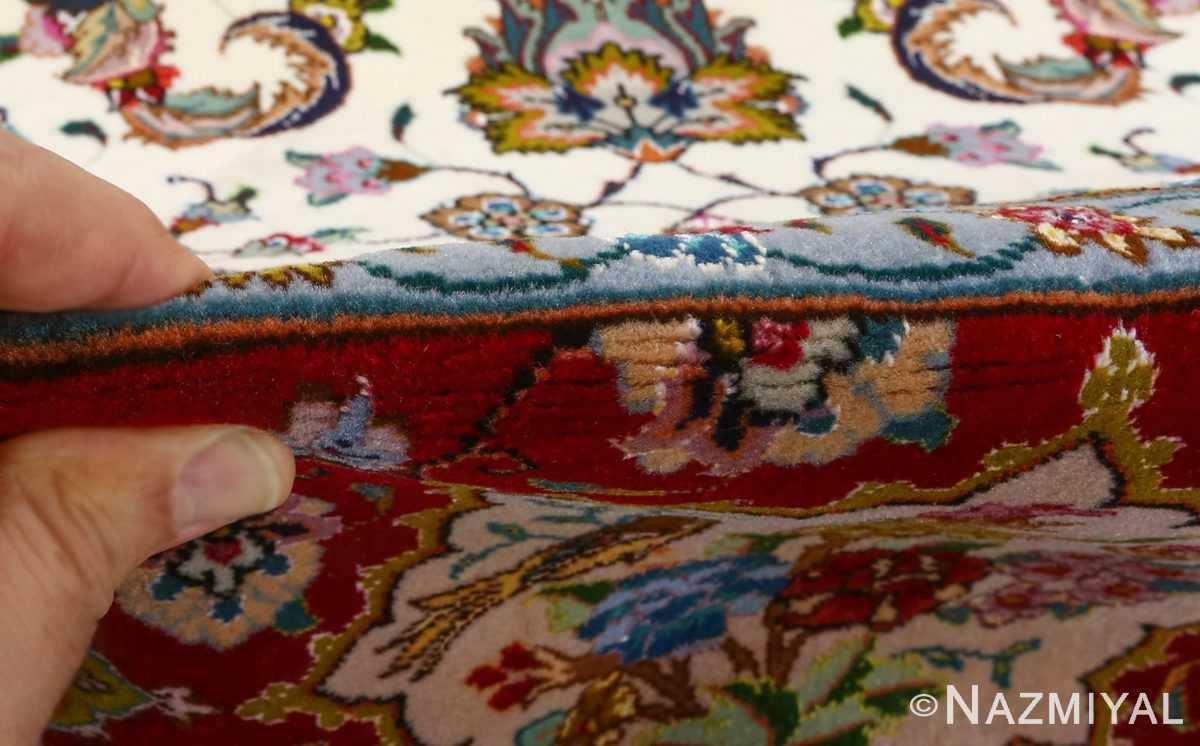 fine animal motif vintage tabriz persian rug 51073 pile Nazmiyal