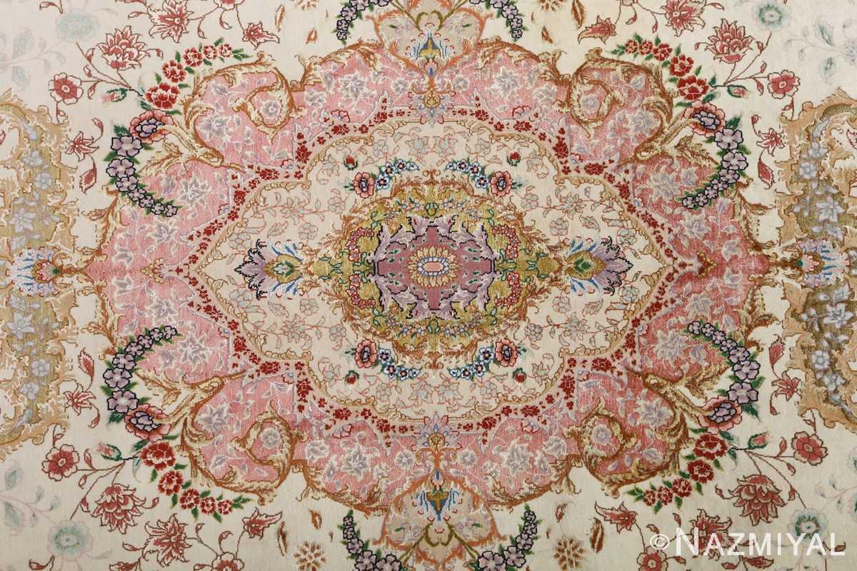 fine ivory vintage tabriz persian rug 51110 whole Nazmiyal