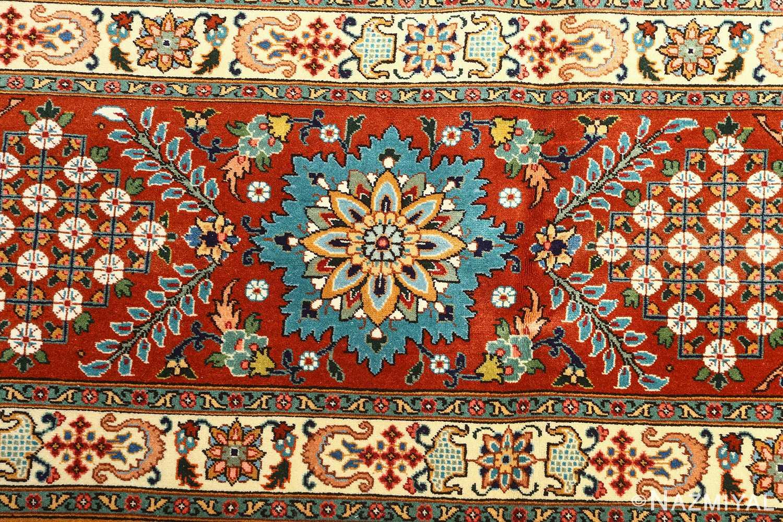 fine joshagan design vintage tabriz persian rug 51069 border Nazmiyal