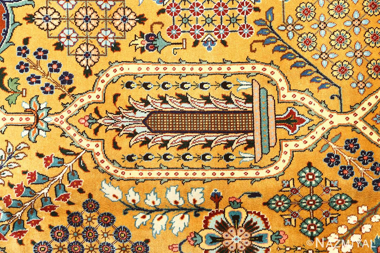 fine joshagan design vintage tabriz persian rug 51069 design Nazmiyal
