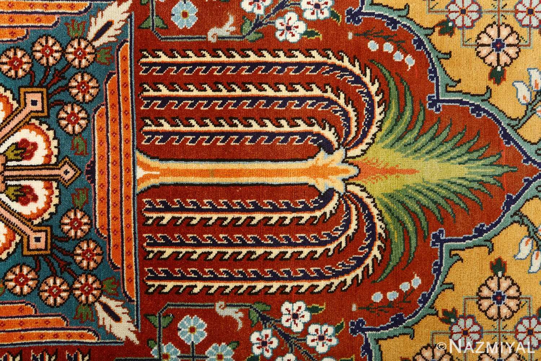 fine joshagan design vintage tabriz persian rug 51069 tree Nazmiyal