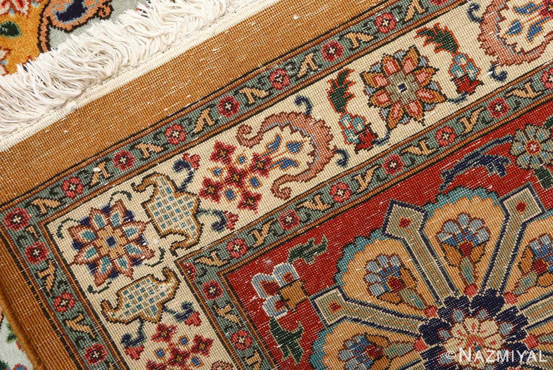 fine joshagan design vintage tabriz persian rug 51069 weave Nazmiyal