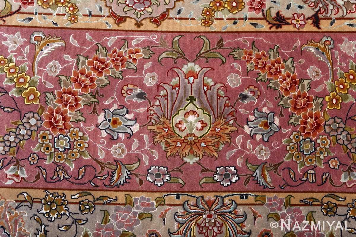 fine large vintage tabriz persian rug 51068 border Nazmiyal