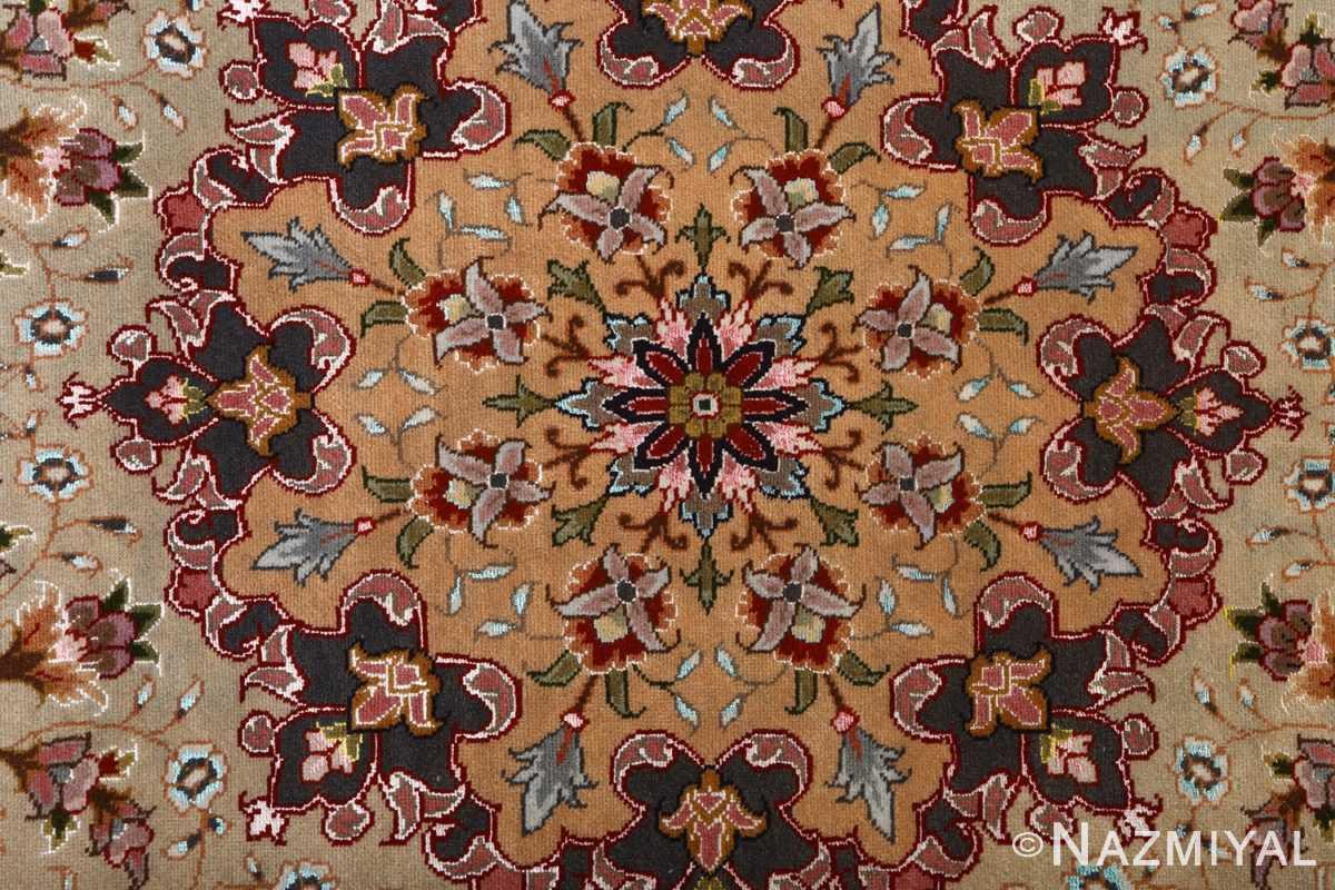 fine large vintage tabriz persian rug 51068 center Nazmiyal