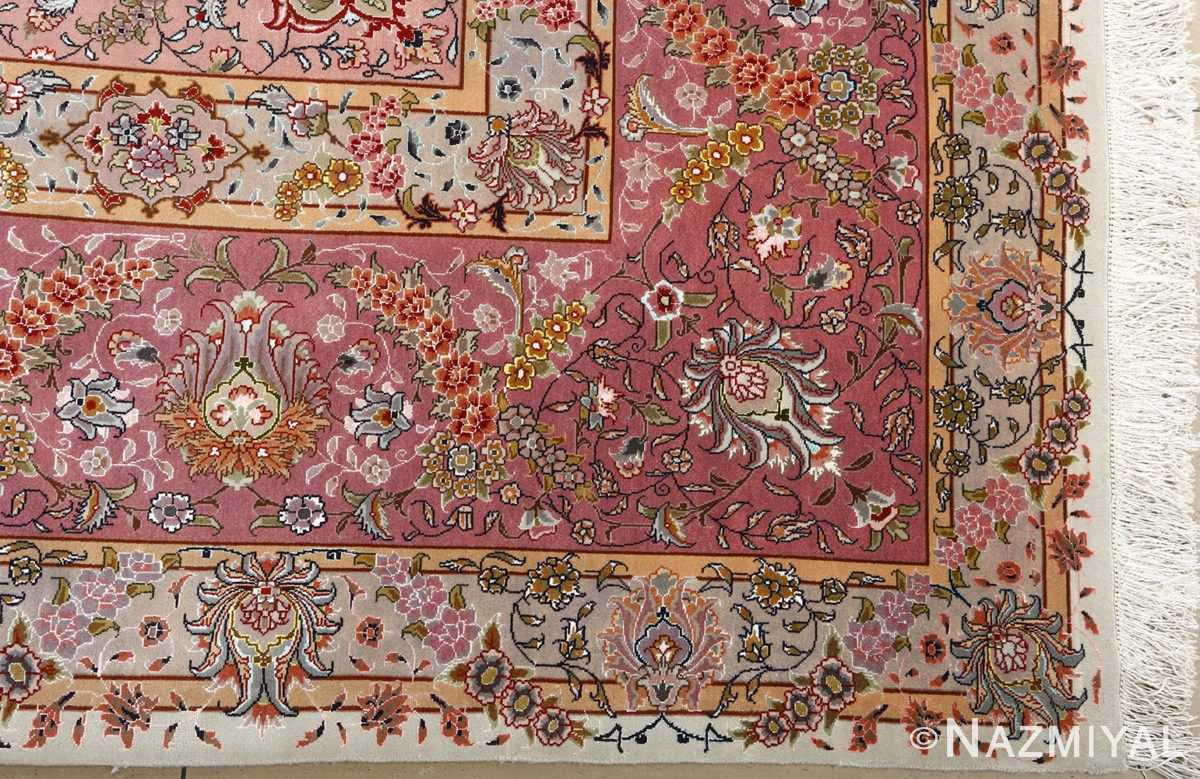 fine large vintage tabriz persian rug 51068 corner Nazmiyal
