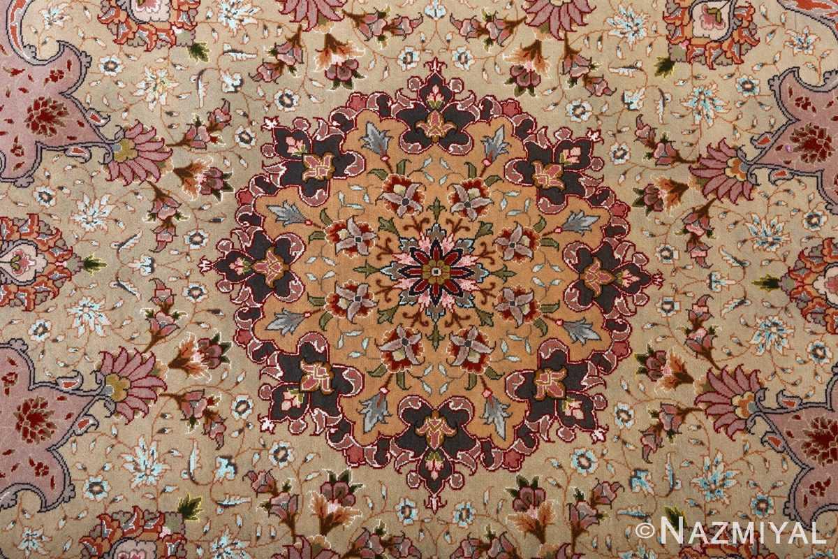 fine large vintage tabriz persian rug 51068 medallion Nazmiyal