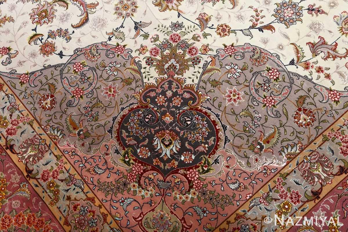 fine large vintage tabriz persian rug 51068 part Nazmiyal