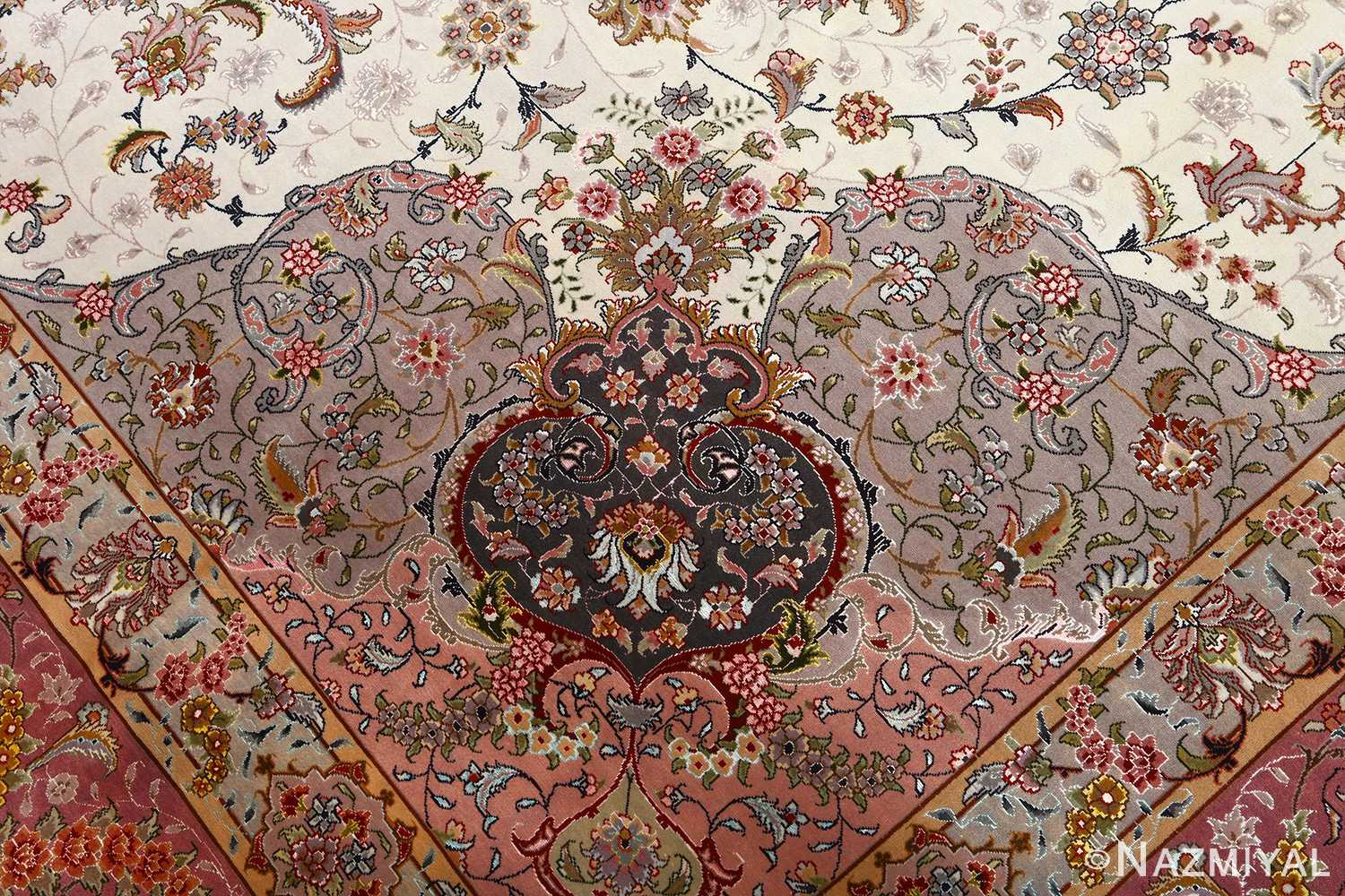 fine large vintage tabriz persian rug 51068 part Nazmiyal