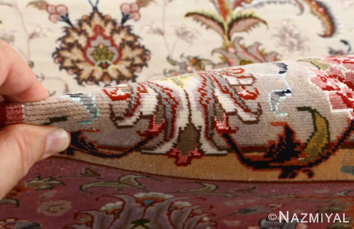 fine large vintage tabriz persian rug 51068 pile Nazmiyal