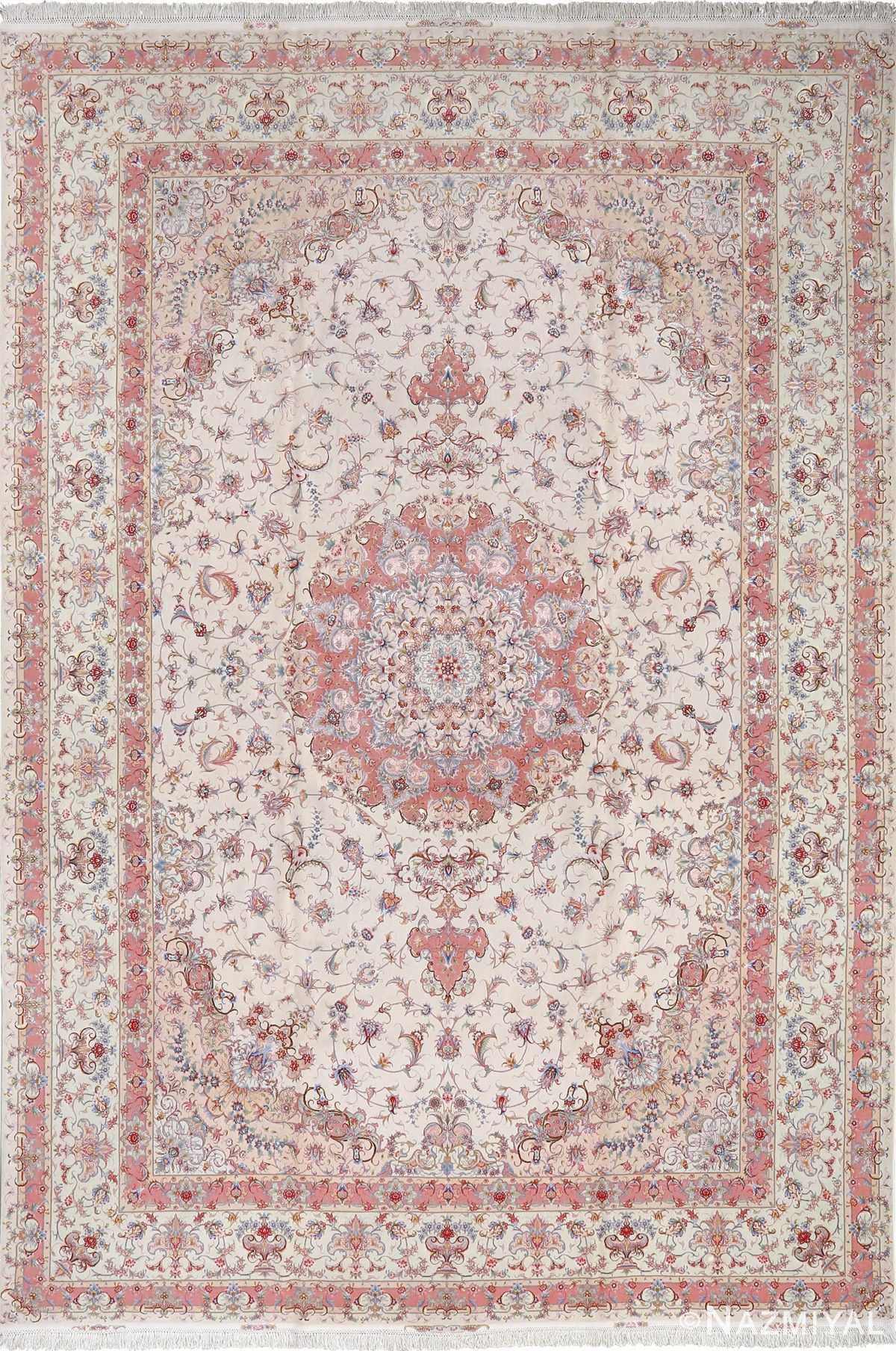 fine large vintage tabriz persian rug 51071 Nazmiyal
