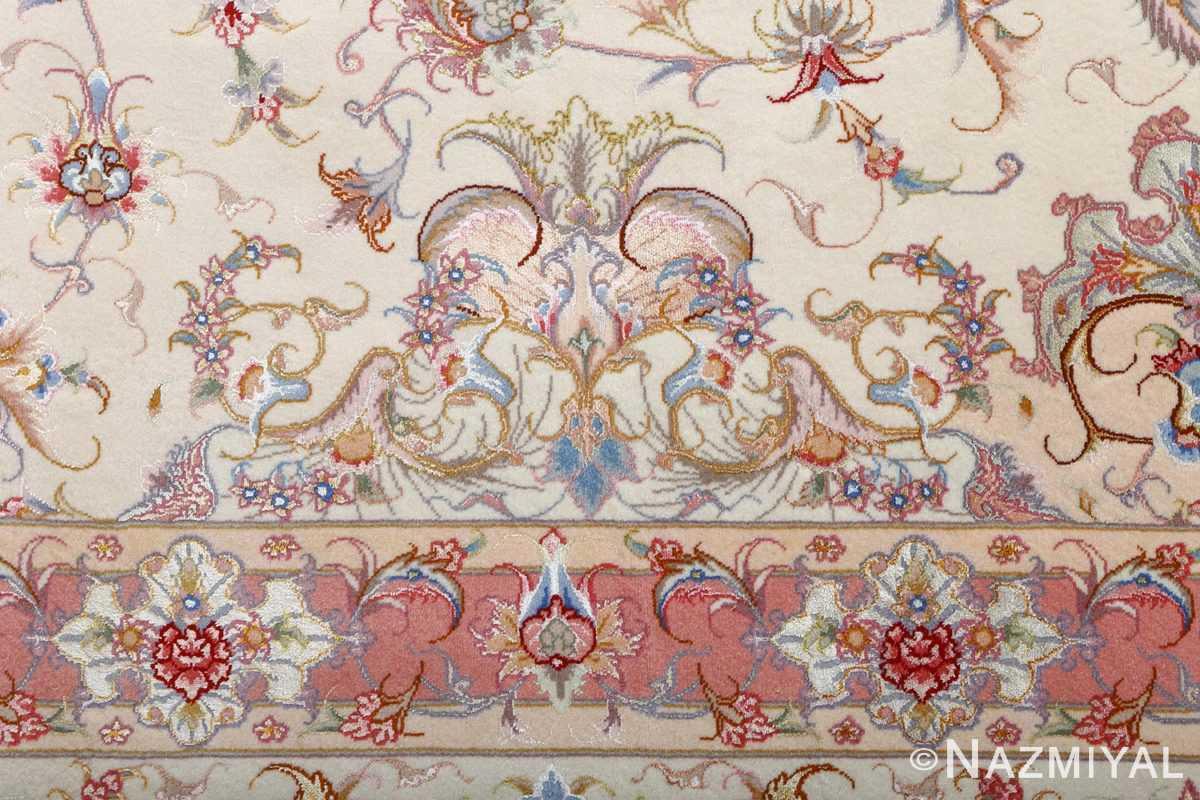 fine large vintage tabriz persian rug 51071 border Nazmiyal