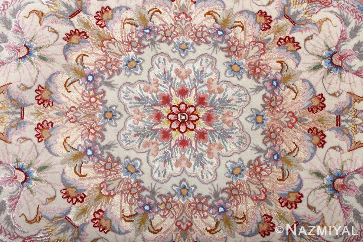 arge vintage tabriz persian rug 51071 center Nazmiyal