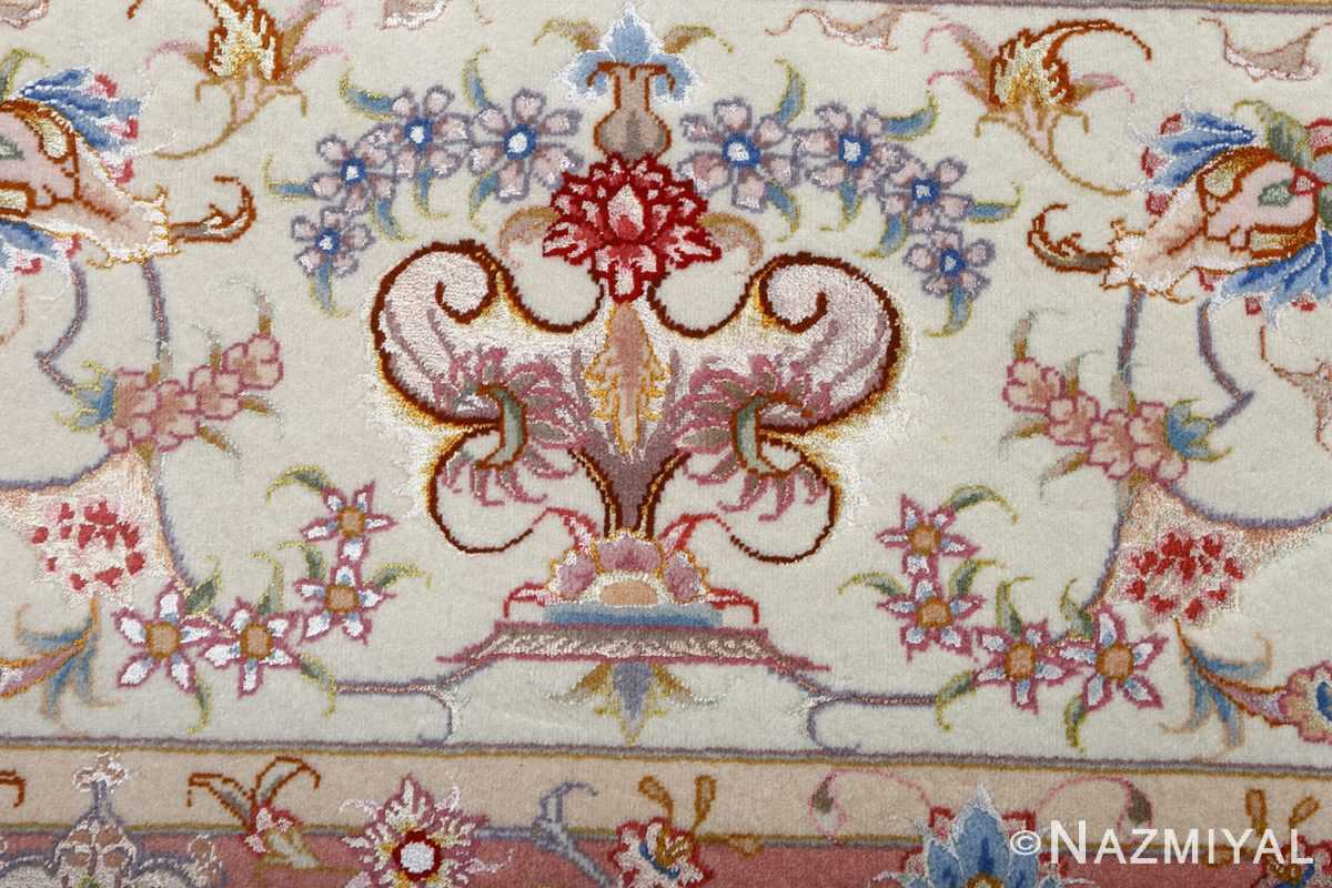 fine large vintage tabriz persian rug 51071 closeup Nazmiyal