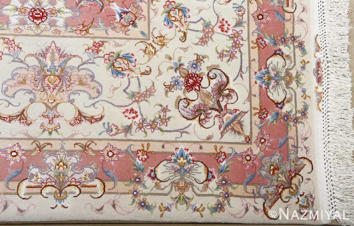 fine large vintage tabriz persian rug 51071 corner Nazmiyal