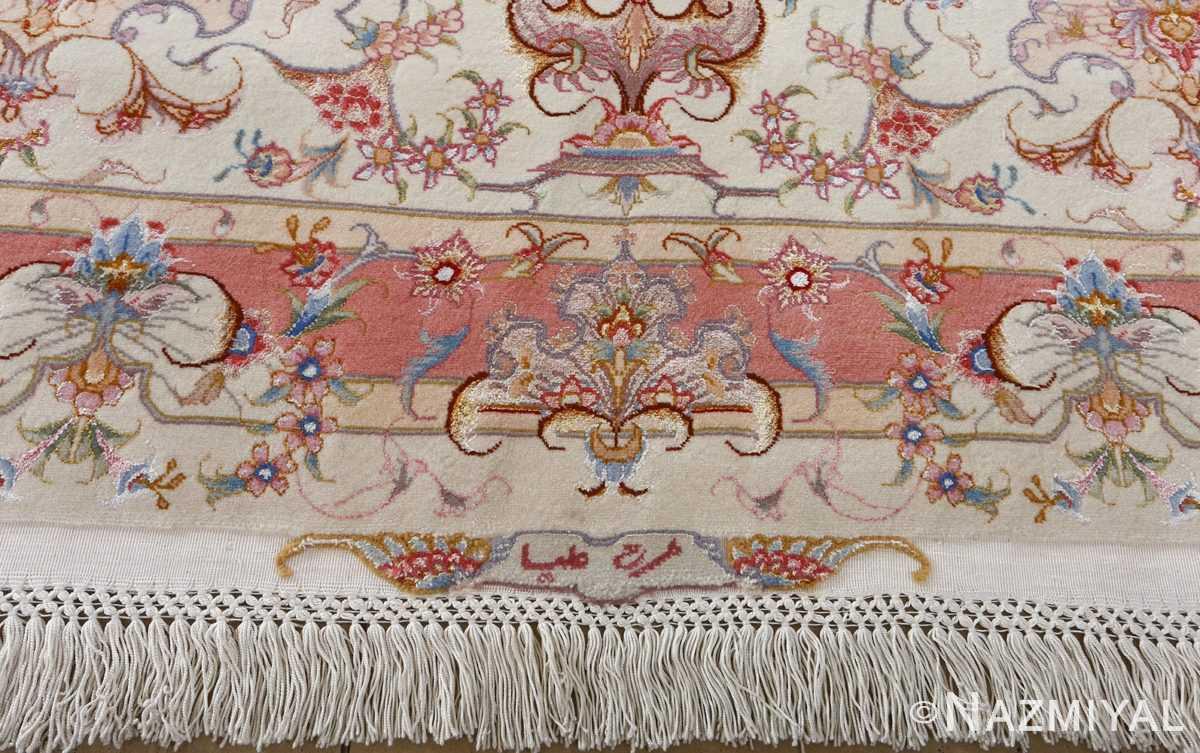 fine large vintage tabriz persian rug 51071 design Nazmiyal