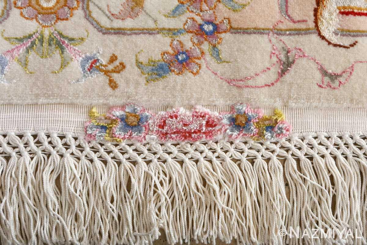 fine large vintage tabriz persian rug 51071 fringes Nazmiyal