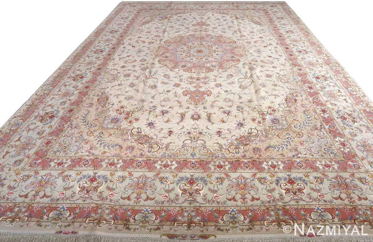 fine large vintage tabriz persian rug 51071 full Nazmiyal