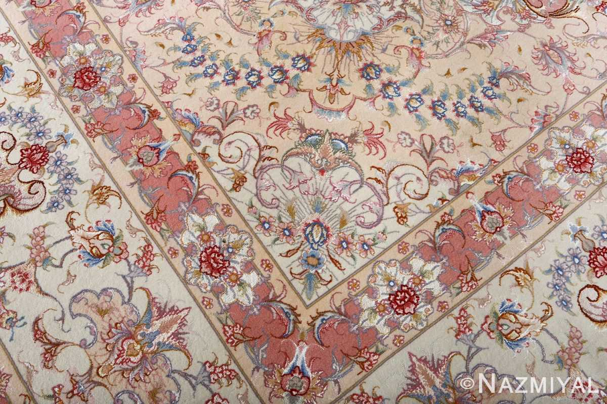 fine large vintage tabriz persian rug 51071 pattern Nazmiyal