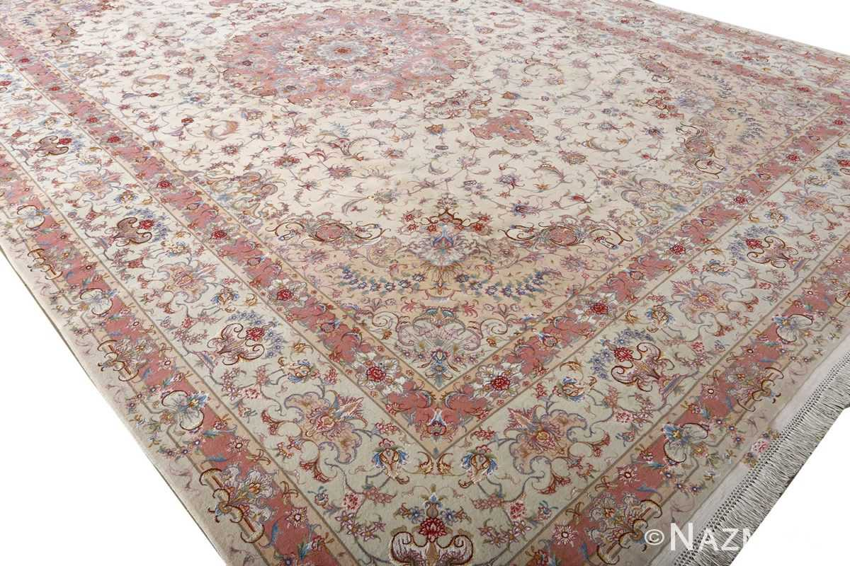 fine large vintage tabriz persian rug 51071 side Nazmiyal