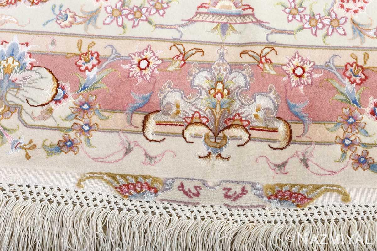 fine large vintage tabriz persian rug 51071 signature Nazmiyal