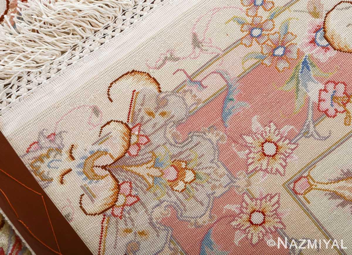 fine large vintage tabriz persian rug 51071 weave Nazmiyal