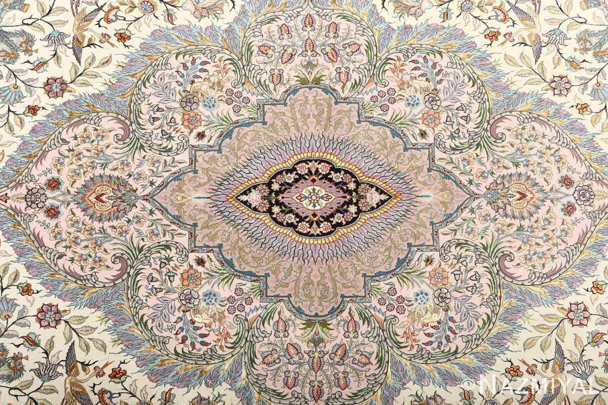 fine pictorial vintage tabriz persian rug 51070 medallion Nazmiyal