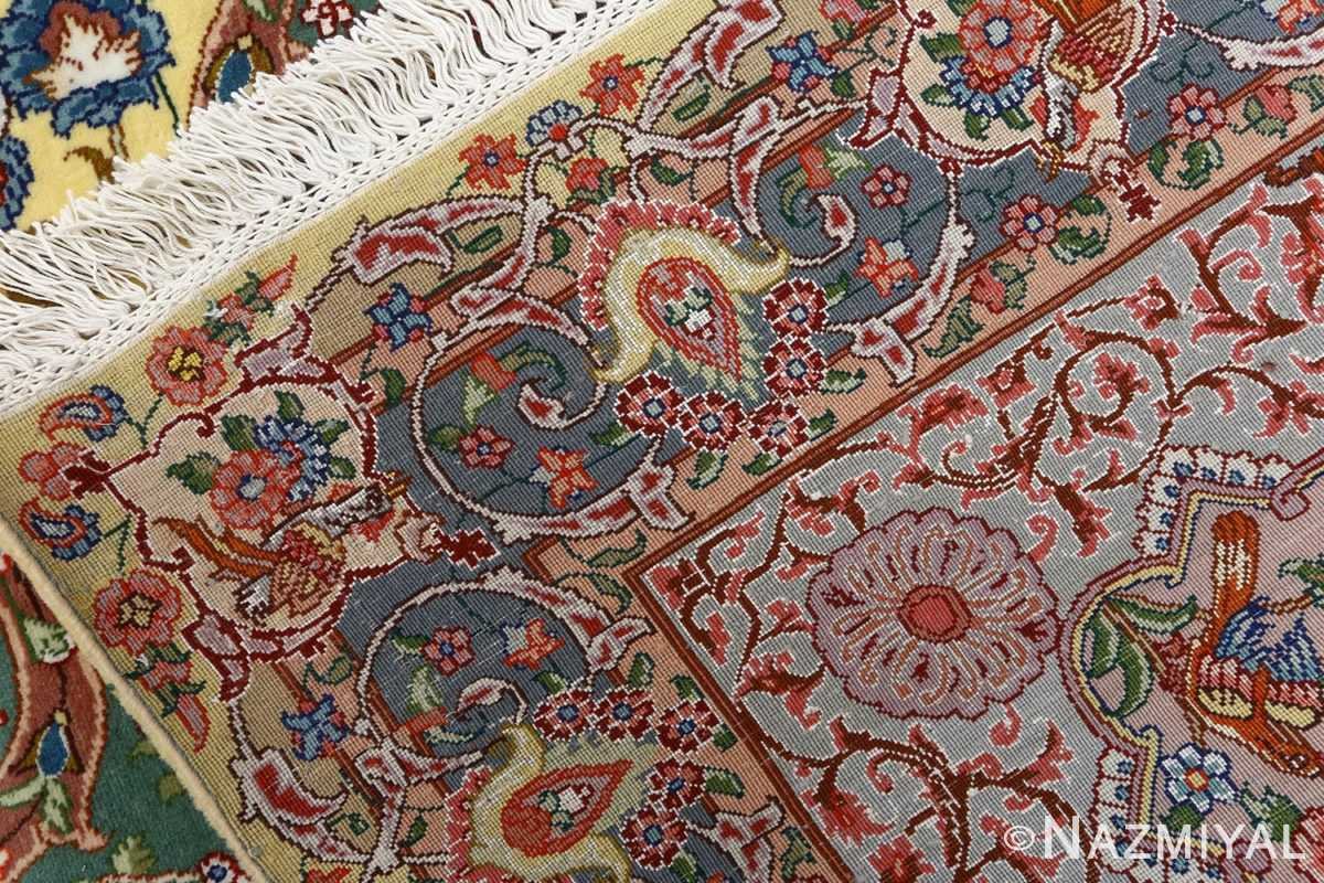 fine pictorial vintage tabriz persian rug 51074 weave Nazmiyal