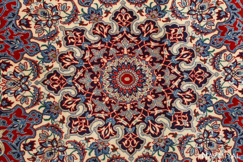 fine seyrafian vintage isfahan persian rug 51079 center Nazmiyal