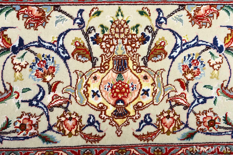 fine vintage floral tabriz persian rug 51106 lantern Nazmiyal