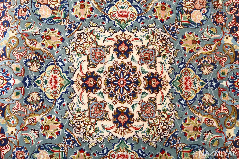 fine vintage floral tabriz persian rug 51106 medallion Nazmiyal