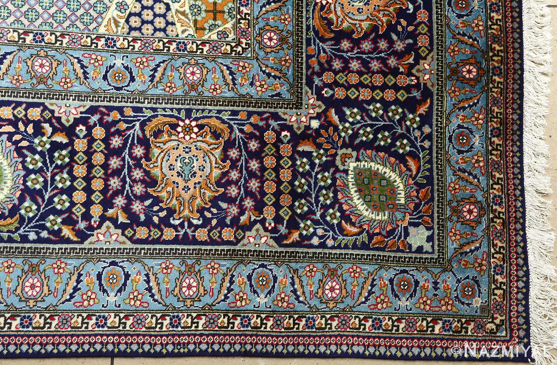 fine vintage tabriz persian rug 51077 corner Nazmiyal