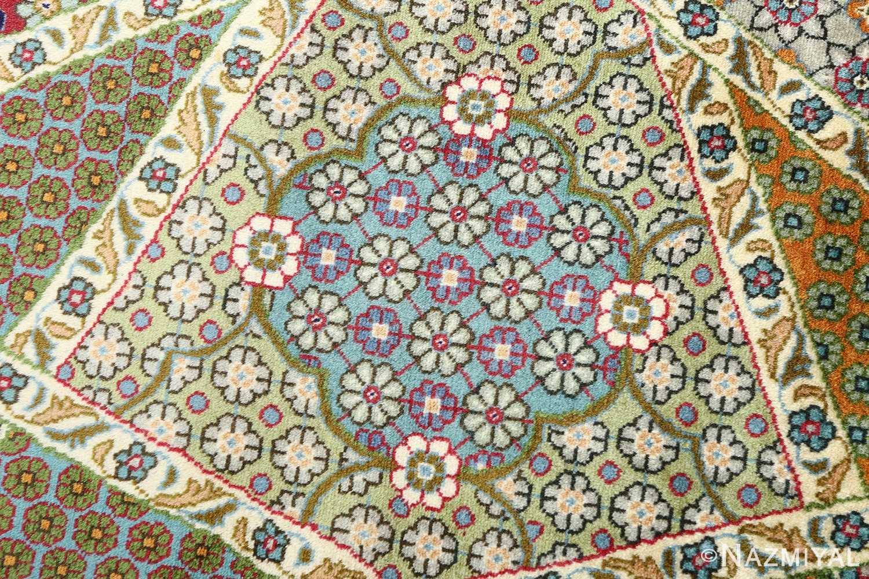 fine vintage tabriz persian rug 51077 daisy