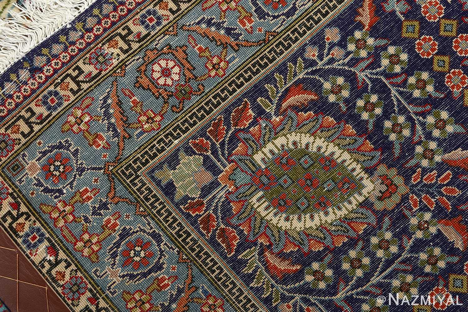 fine vintage tabriz persian rug 51077 weave Nazmiyal