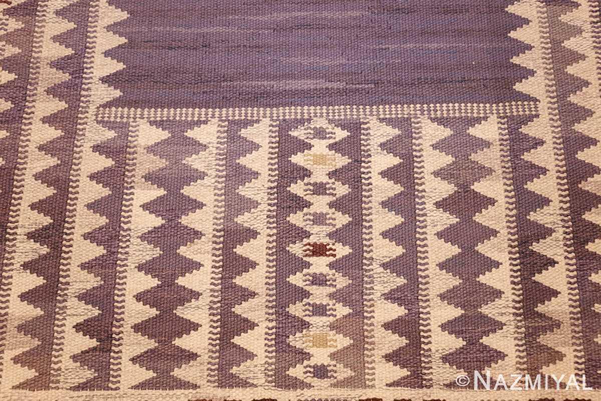 geometric vintage scandinavian swedish kilim by marta maas 49268 down Nazmiyal