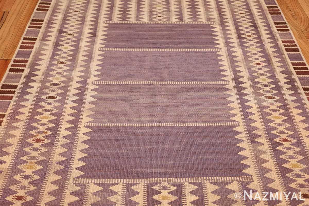 geometric vintage scandinavian swedish kilim by marta maas 49268 field Nazmiyal